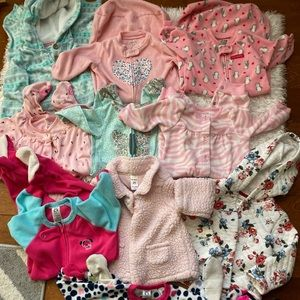 Bundle of 9-24 months baby girl winter clothes